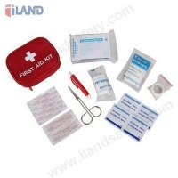 7FA011, 17PCS First Aid Kit