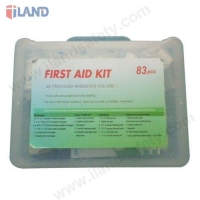7FA162, 67PCS First Aid Kit