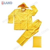 2-Piece Rainsuit with Attached Hood